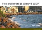 projected average sea level 2100