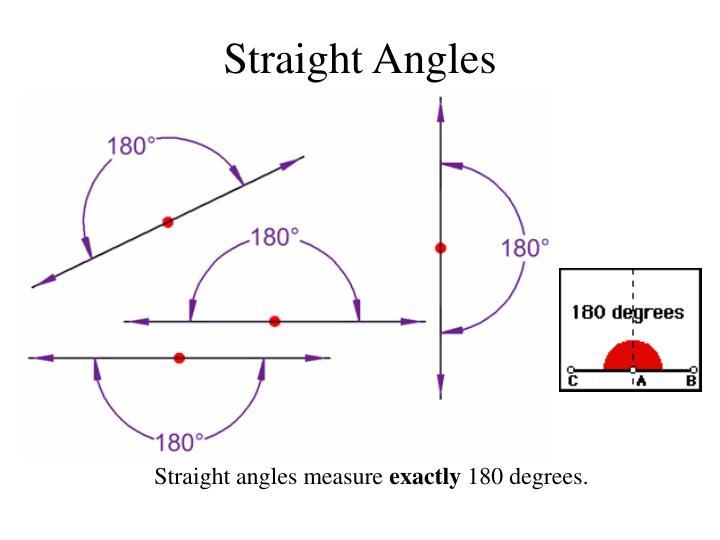 Straight Angles