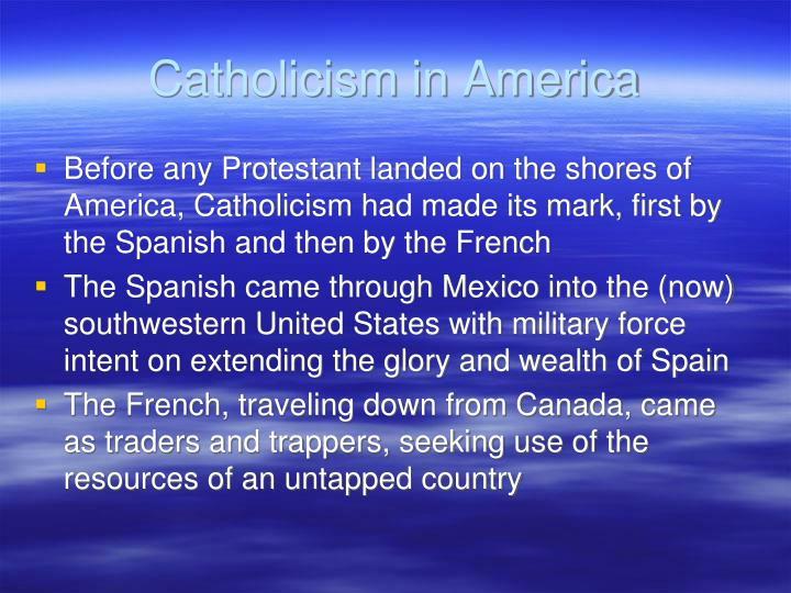Catholicism in america
