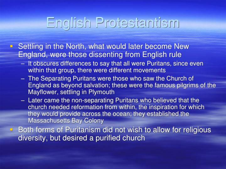 English Protestantism