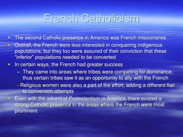 French Catholicism