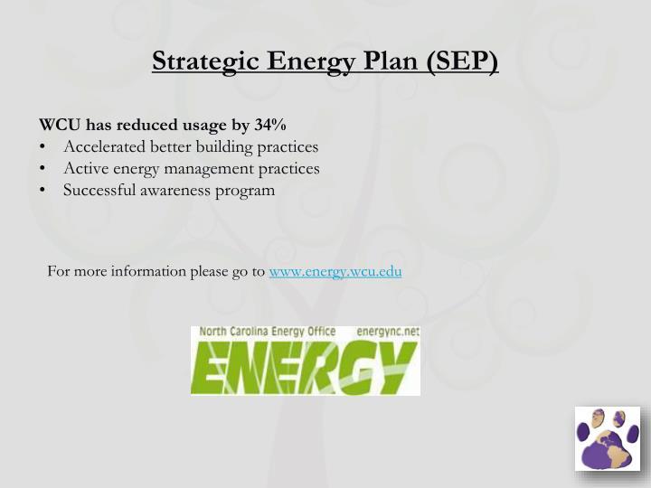Strategic Energy Plan (SEP)
