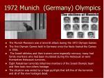 1972 munich germany olympics
