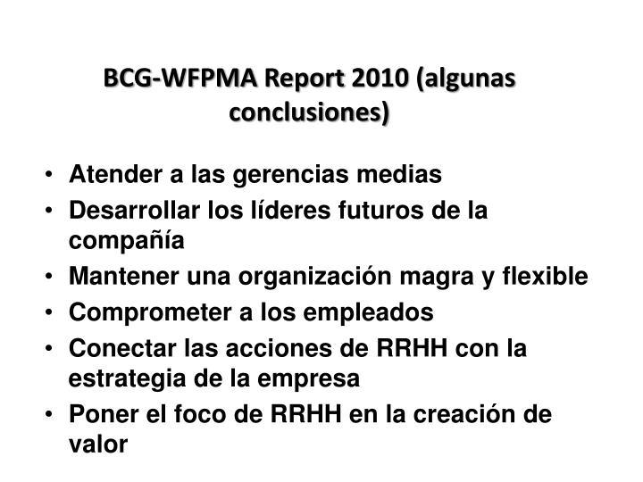 BCG-WFPMA