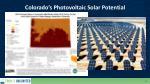 colorado s photovoltaic solar potential