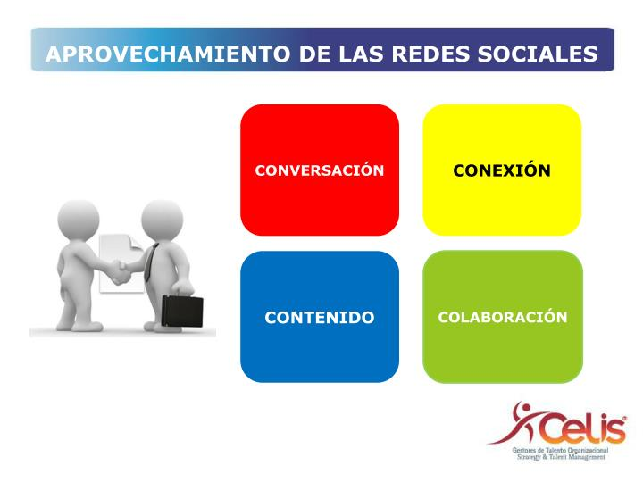 APROVECHAMIENTO DE LAS REDES SOCIALES