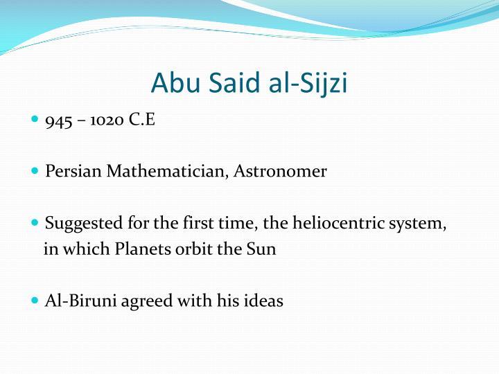 Abu Said