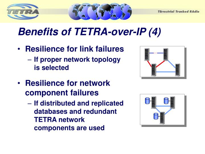 Benefits of TETRA-over-IP (4)