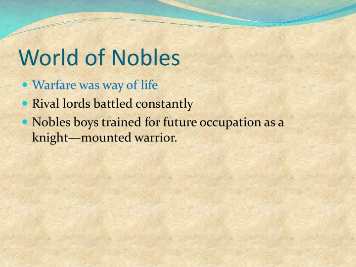 World of Nobles