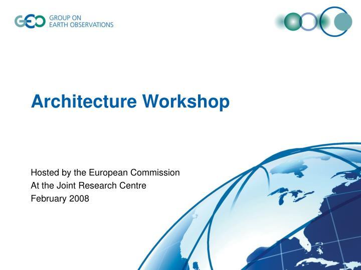 Architecture Workshop
