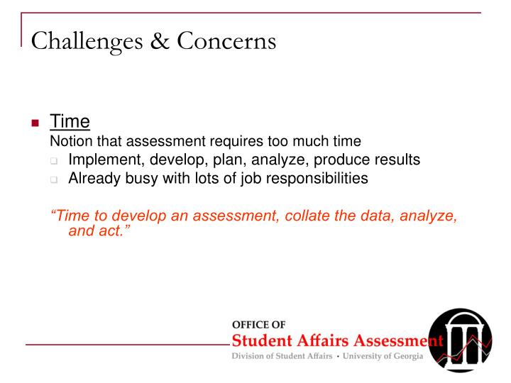Challenges & Concerns