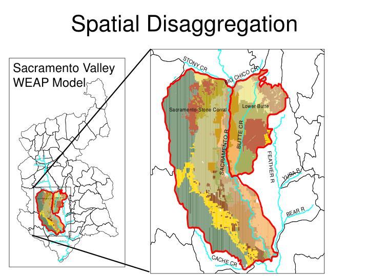 Spatial Disaggregation