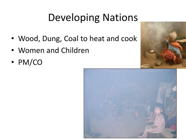 Developing nations