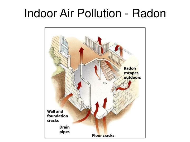 Indoor Air Pollution - Radon