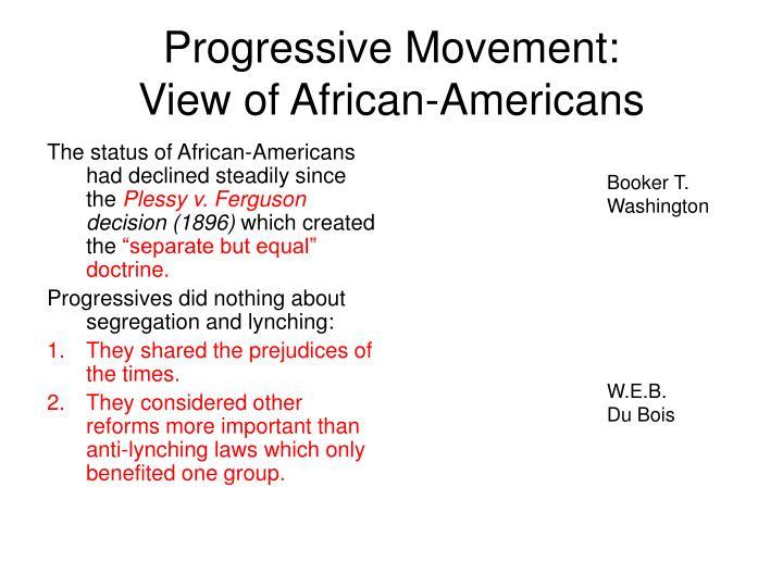 Progressive Movement: