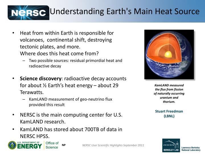 Understanding Earth's Main Heat Source