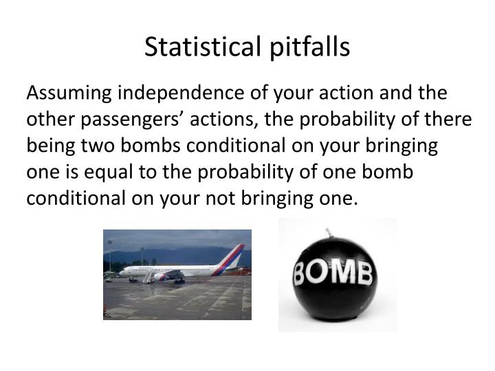 Statistical pitfalls