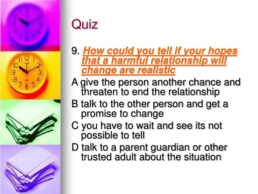PPT - Recognizing Harmful Relationships PowerPoint