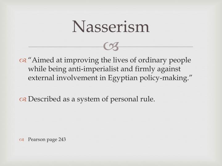Nasserism