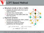 lcpt based method