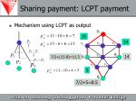 sharing payment lcpt payment