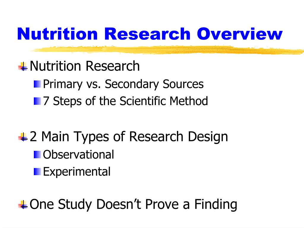 main types of research