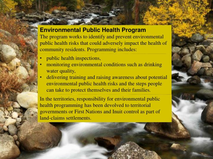 Environmental Public Health