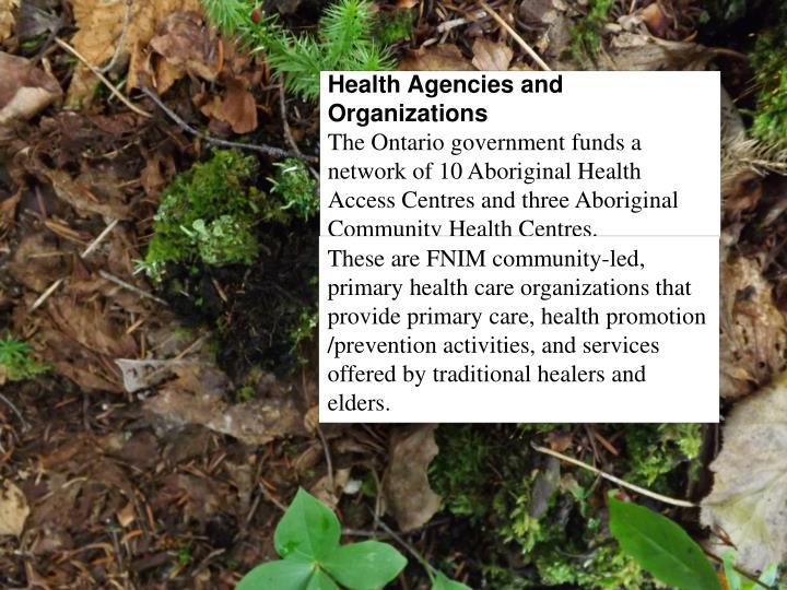 Health Agencies and