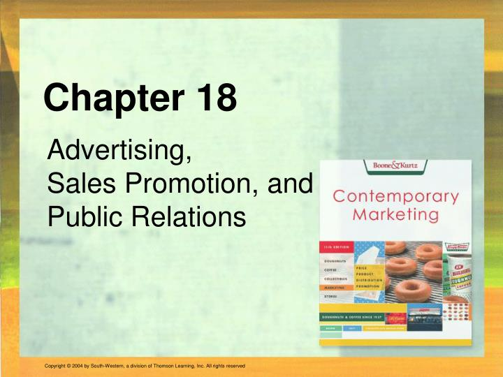 chapter 2 advertising and public relations