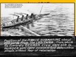jan 1917 germany announces a policy of unrestricted submarine warfare