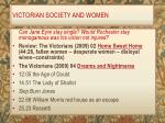 victorian society and women