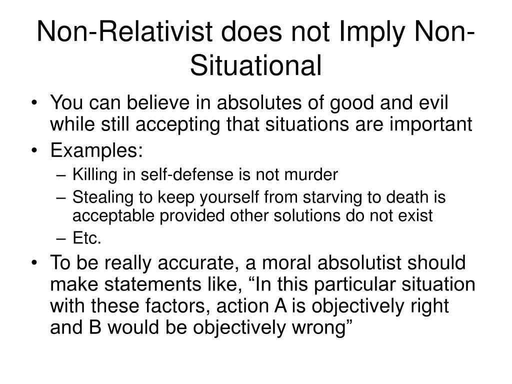 PPT - Moral Relativism PowerPoint Presentation, free ...