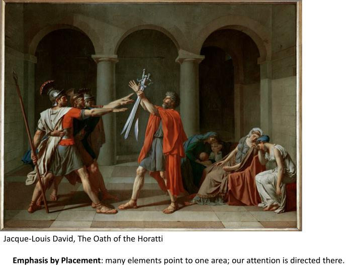 Jacque-Louis David, The Oath of the