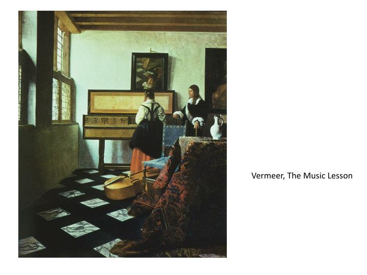 Vermeer, The Music Lesson