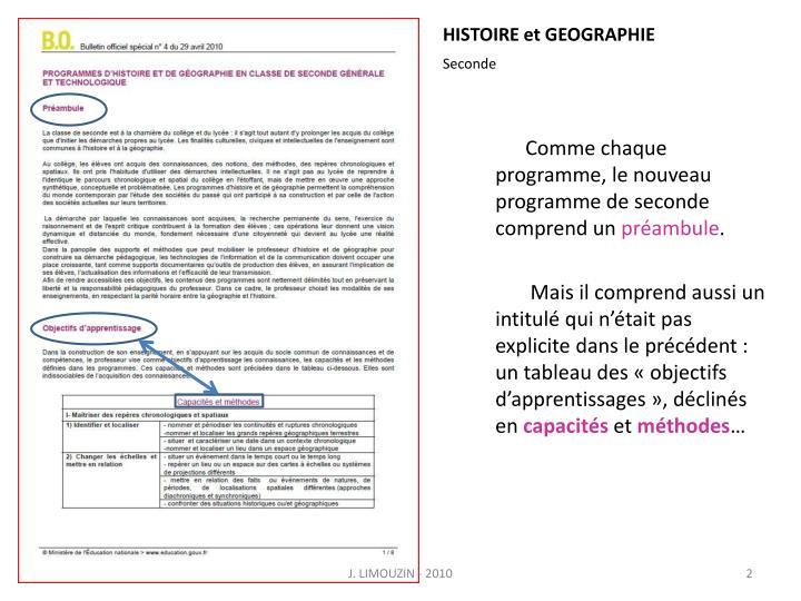 Histoire et geographie1