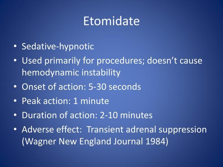 PPT - Sedation & Analgesia PowerPoint Presentation - ID..