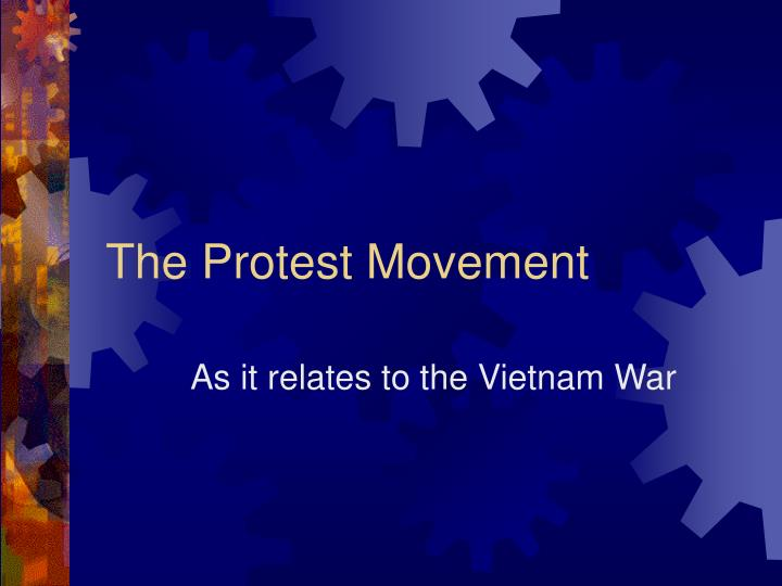 the protest movement n.