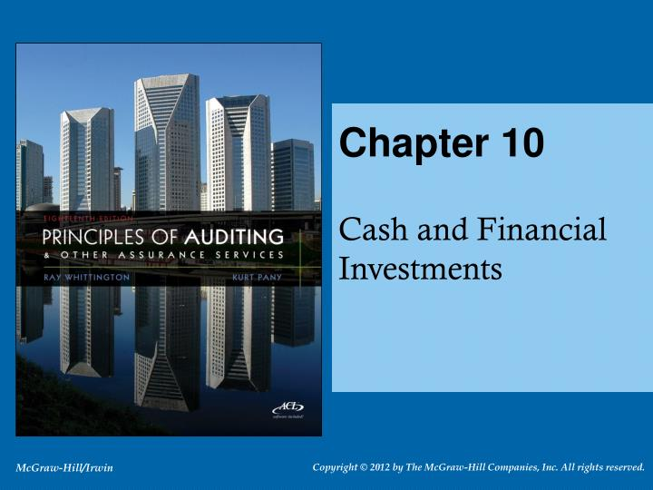 Principles of auditing cash and financial investments new york forex market close