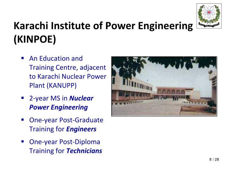 Karachi Institute of Power Engineering (KINPOE)