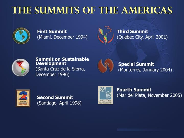 a brief summary of the third summit of the americas A curriculum guide to no summit out of sight the true story of the youngest person to climb the seven summits by jordan romero with linda leblanc.