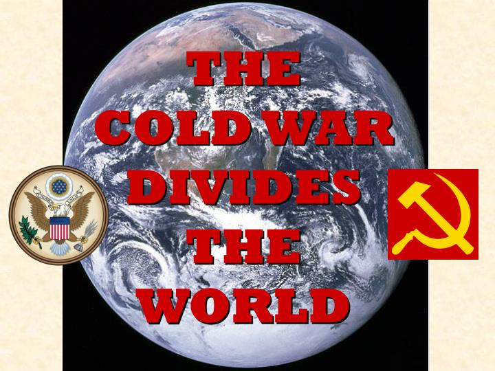 the cold war divides the world n.