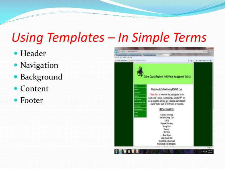 Using Templates – In Simple Terms