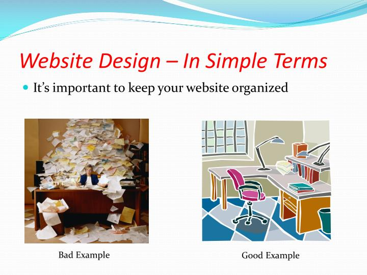 Website Design – In Simple Terms