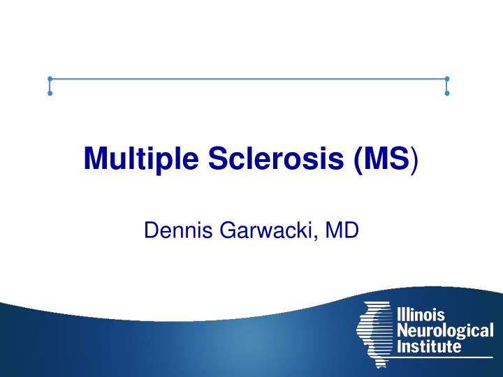 multiple sclerosis ms n.