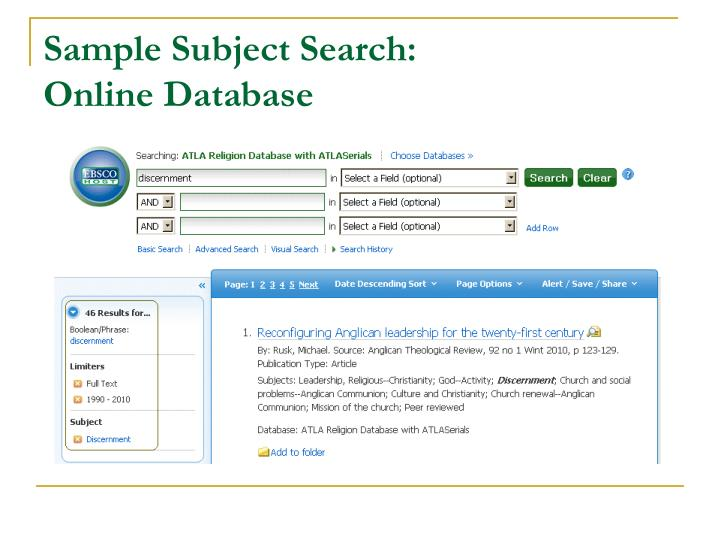 Keyword Vs. Controlled Vocabulary Searching 12 Basic