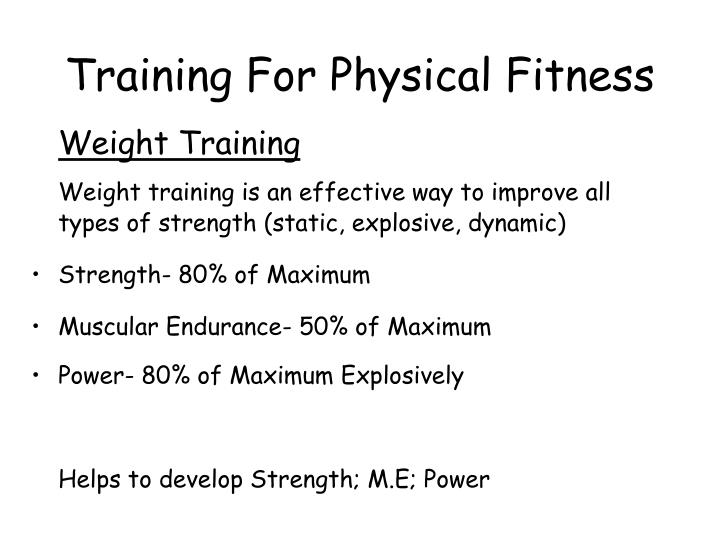 training and fitness: methods of training essay Employee training program development sample essay introduction employee training is a critical various training methods will be defined in order to ensure that.