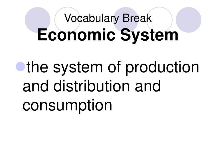 Vocabulary Break