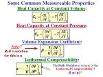 some common measureable properties