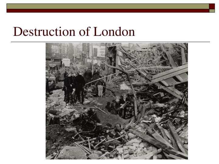 Destruction of London