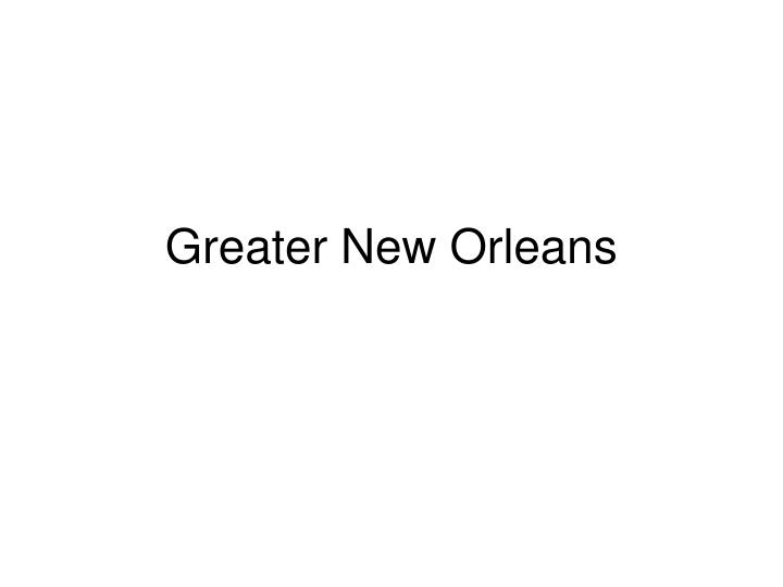 greater new orleans n.